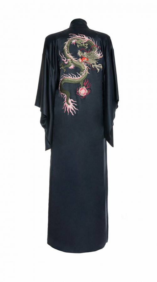 Long Kimono with embroidery – Dragon